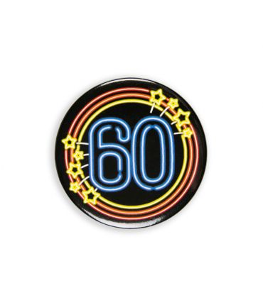 Neon button - 60