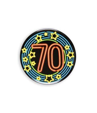 Neon button - 70