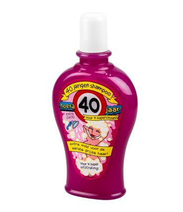 Fun Shampoo - 40 jaar vrouw