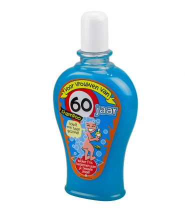 Fun Shampoo - 60 jaar vrouw