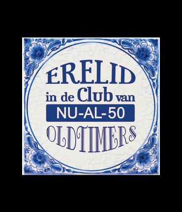 Tegels delfts blauw - 50 jaar