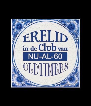 Tegels delfts blauw - 60 jaar