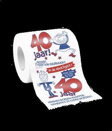 Toiletpapier - 40 man