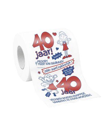 Toiletpapier - 40 vrouw