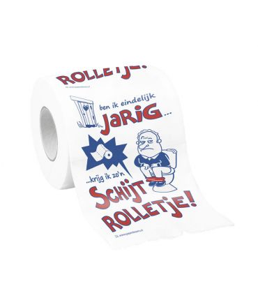 Toiletpapier - Schijtrolletje