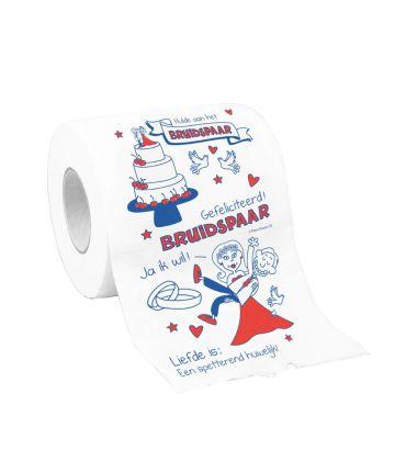 Toiletpapier - Bruidspaar