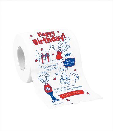 Toiletpapier - Happy Birthday