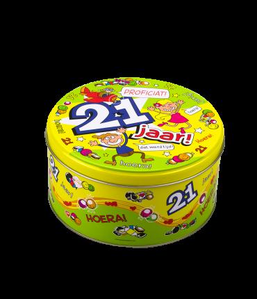 Snoeptrommel - 21 jaar
