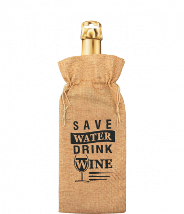 Bottle gift bag - Save water