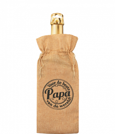 Bottle gift bag - Papa