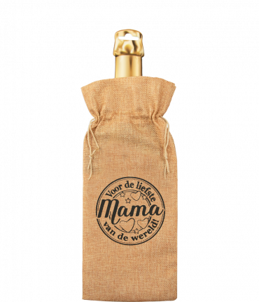 Bottle gift bag - Mama