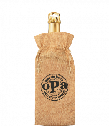Bottle gift bag - Opa