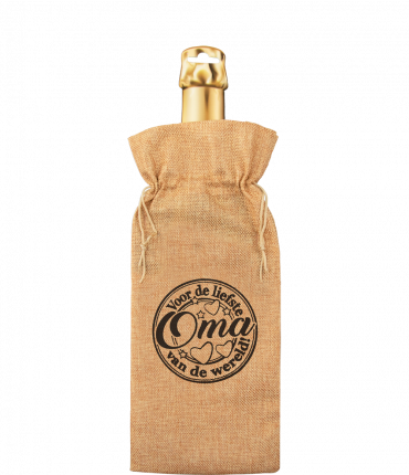 Bottle gift bag - Oma