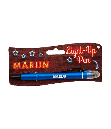 Light up pen - Marijn