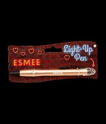 Light up pen - Esmee