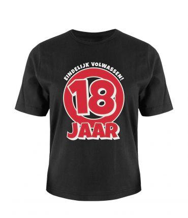 Leeftijd shirt - 18 jaar