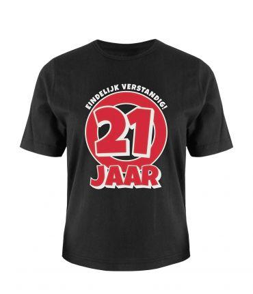Leeftijd shirt - 21 jaar