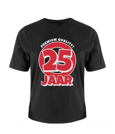 Leeftijd shirt - 25 jaar