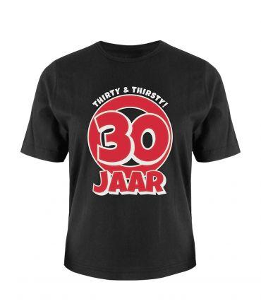Leeftijd shirt - 30 jaar