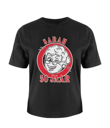 Leeftijd shirt - Sarah 50