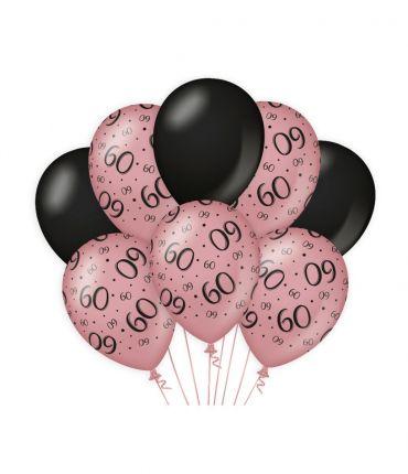 Decoration balloons Rose/black - 60