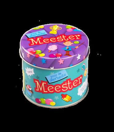 Snoepblikjes - Meester