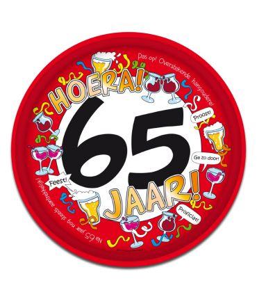 Dienblad - 65 jaar