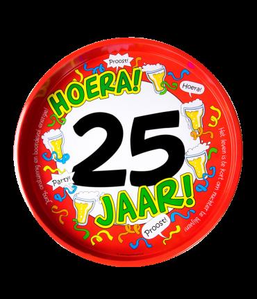 Dienblad - 25 jaar