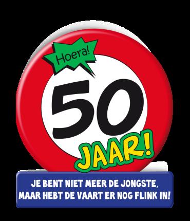 Wenskaarten - 50 jaar verkeersbord