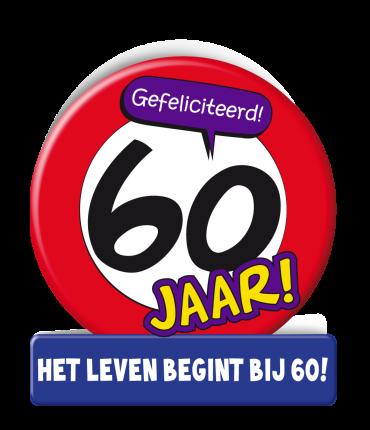 Wenskaarten - 60 jaar verkeersbord