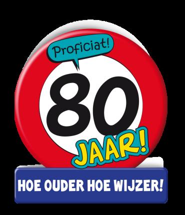 Wenskaarten - 80 jaar verkeersbord