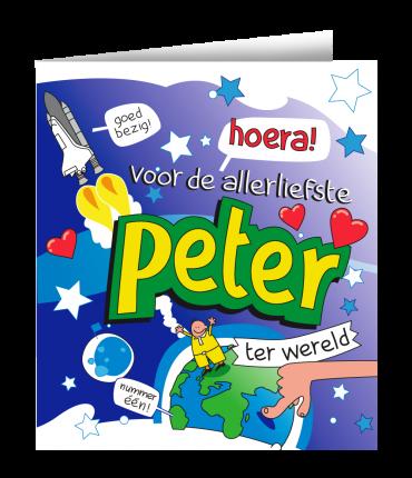 Wenskaarten - Peter cartoon