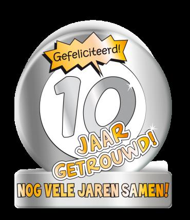 Wenskaarten - 10 jaar getrouwd