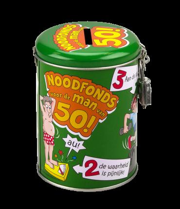 Spaarpotten - 50 jaar man