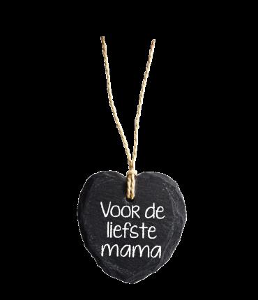 Natuurstenen Hart - Liefste mama