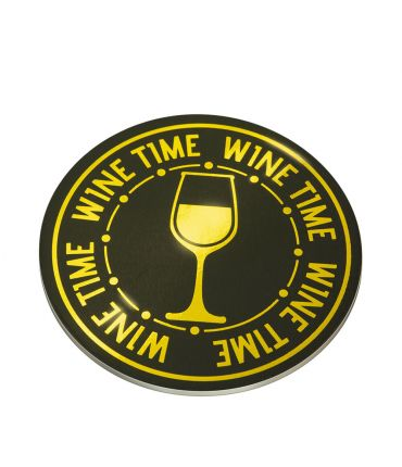 Glossy coasters - Wine time!