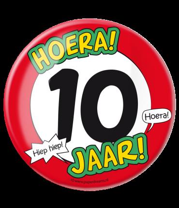 Button XL - 10 jaar