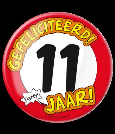 Button XL - 11 jaar