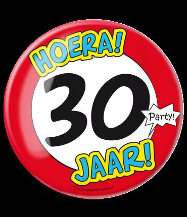 Button XL - 30 jaar