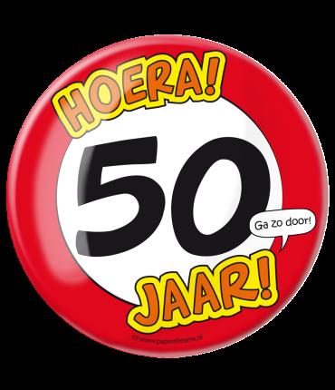 Button XL - 50 jaar