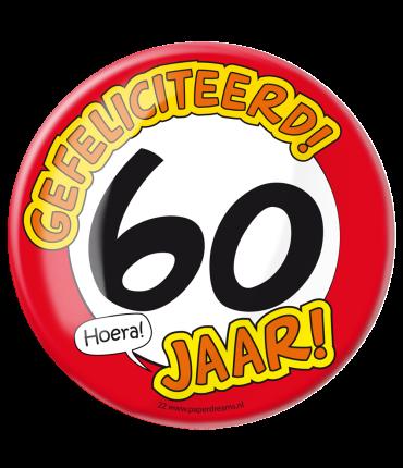 Button XL - 60 jaar