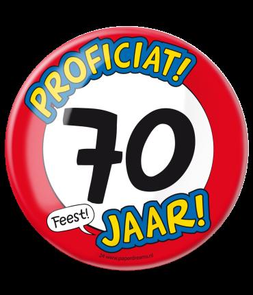 Button XL - 70 jaar