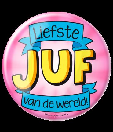 Button XL - Juf