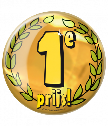 Button XL - 1e prijs
