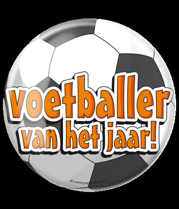 Button XL - Voetballer