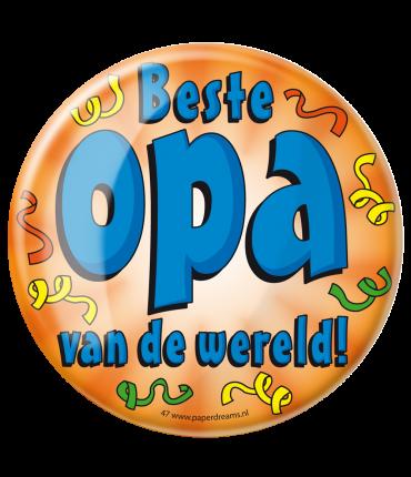 Button XL - Beste Opa