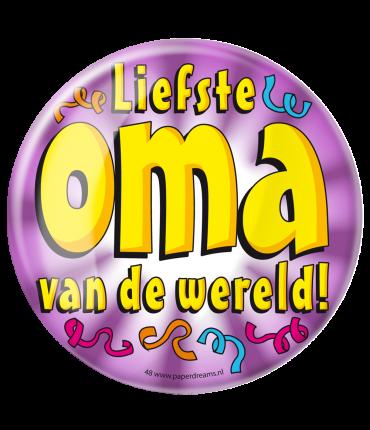 Button XL - Liefste Oma