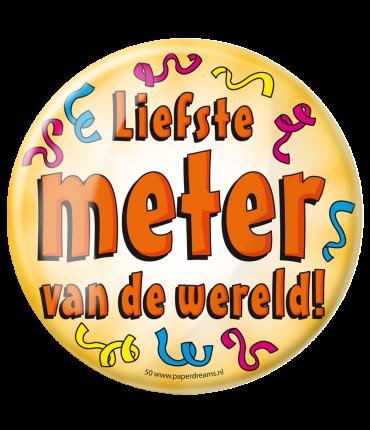 Button XL - Liefste Meter