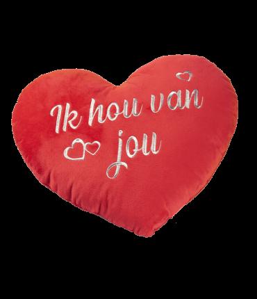 Hart kussens - Ik hou van jou