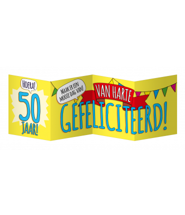 Surprise Card - 50 jaar